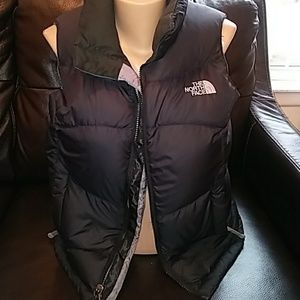 The North Face puff vest